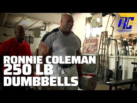 Ronnie Coleman 250 lb Dumbbell Shoulder Workout | 1080 HD | Relentless