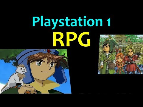 10 Awesome PS1 RPG Games 😍 Video 2 ... (Gameplay)