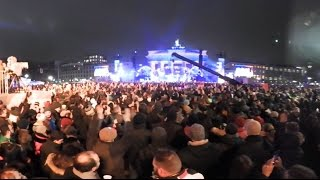 Silvester: Party am Brandenburger Tor im 360°-Video (