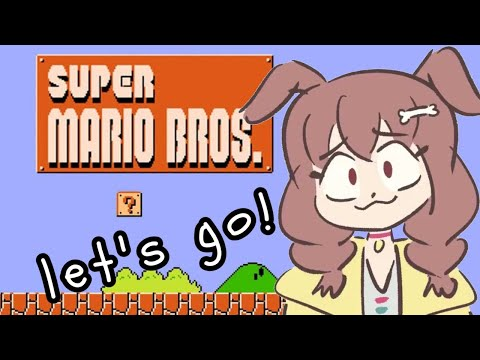 【English only!】日本語を喋ったら即終了なマリオ【Super Mario Bros.】