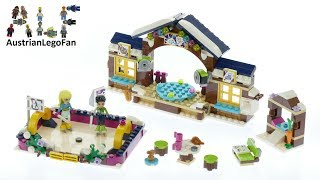 Lego Friends 41322 Snow Resort Ice Rink - Lego Speed Build Review