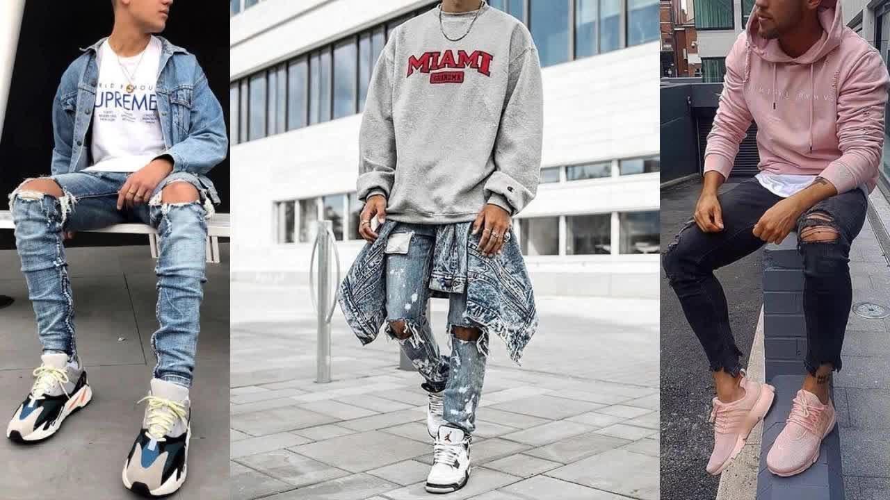 Outfits Invierno Hombre 2019 2020 Moda Streetwear Urban Tendencias 2020 Youtube