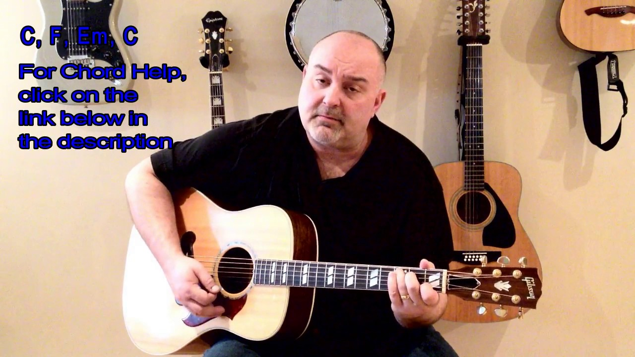 How To Play Lean On Me Bill Withers Cover Easy 4 Chord Tune