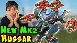 NEW 5.2 Update HUSSAR SPECTRE Mk2 Max Damage War Robots Gameplay WR