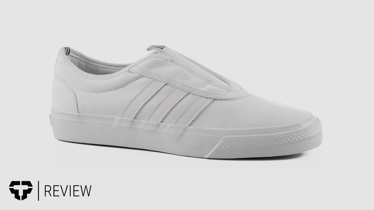 c7d4ad43672 Adidas Adi Ease Kung-Fu Skate Shoes Review - Tactics.com - YouTube