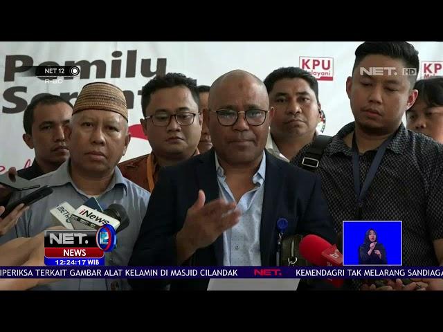 BPN Prabowo-Sandi Desak KPU Cabut Izin Lembaga Survei NET12