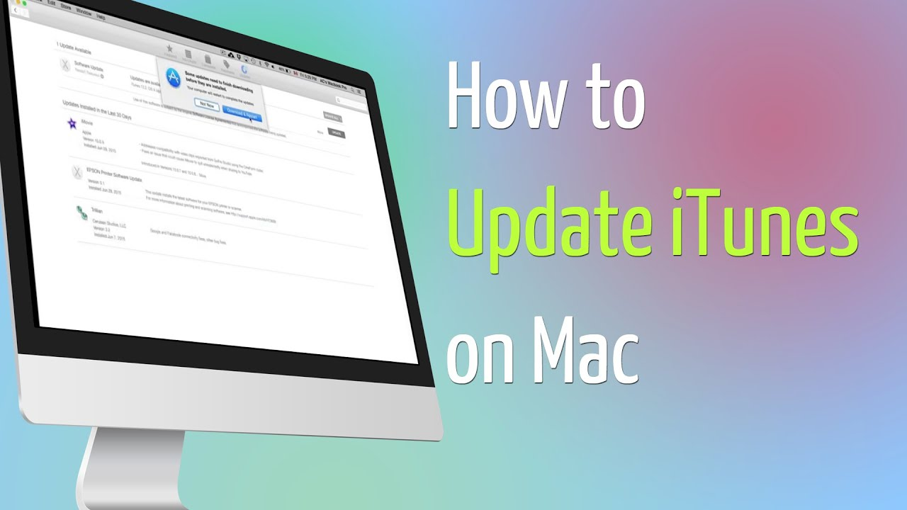 How to Completely Uninstall iTunes on Mac and Reinstall Later