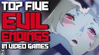 Top Five Evil Endings in Video Games - rabbidluigi