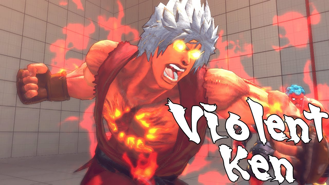 Super Street Fighter 4 Pc Violent Ken Youtube