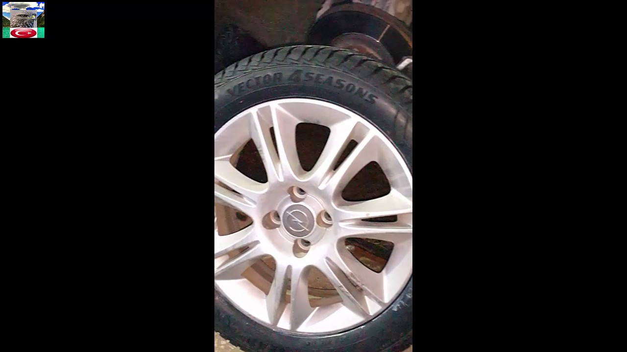 Opel Corsa Lastik Degisim Goodyear Vec 4season Tire Change Youtube