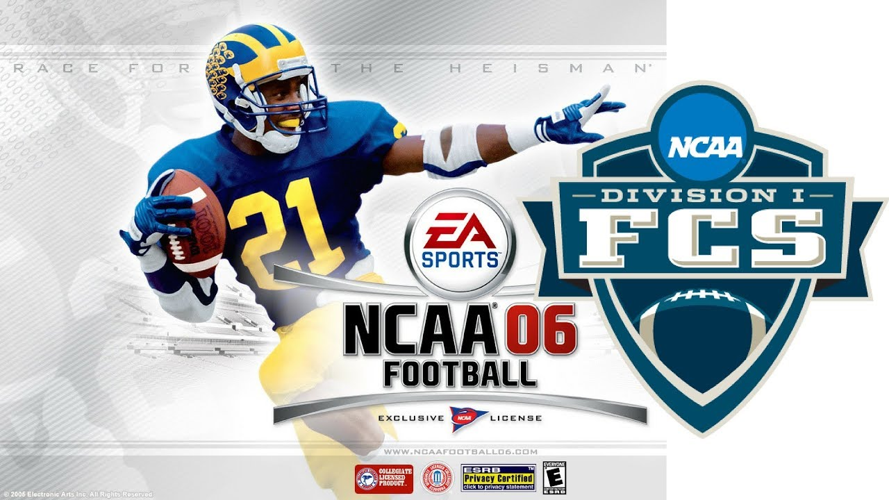 Fcs Football Dynasty Ncaa Football 2006 Ps2 Fcs Tournament Youtube