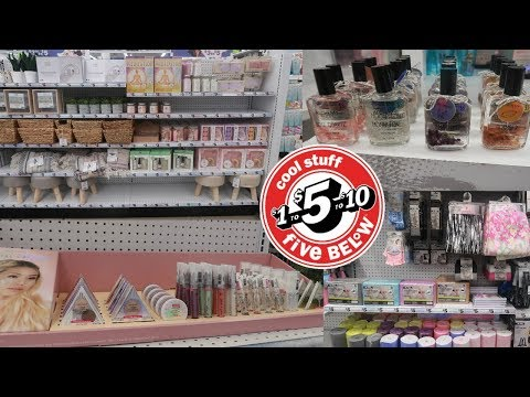 FIVE BELOW SHOPPING *NEW MAKEUP & MORE/ COME WITH ME