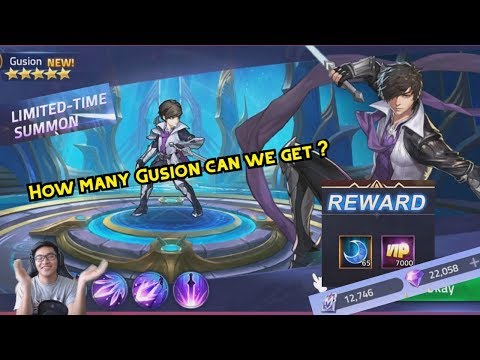 WE SPAM UNTIL WE GET GUSION !   Limited-Time Summon