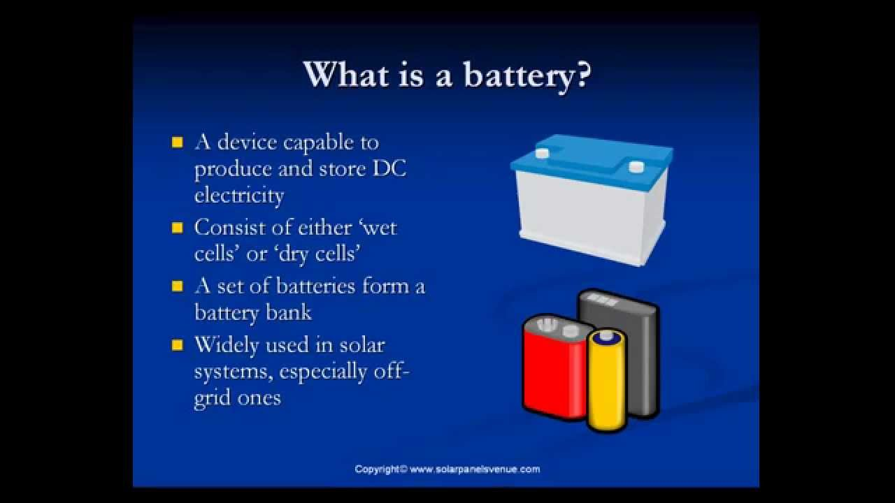 Solar Pv Systems Backup Power Ups Systems: Solar Battery Backup: Solar Batteries And Solar Battery