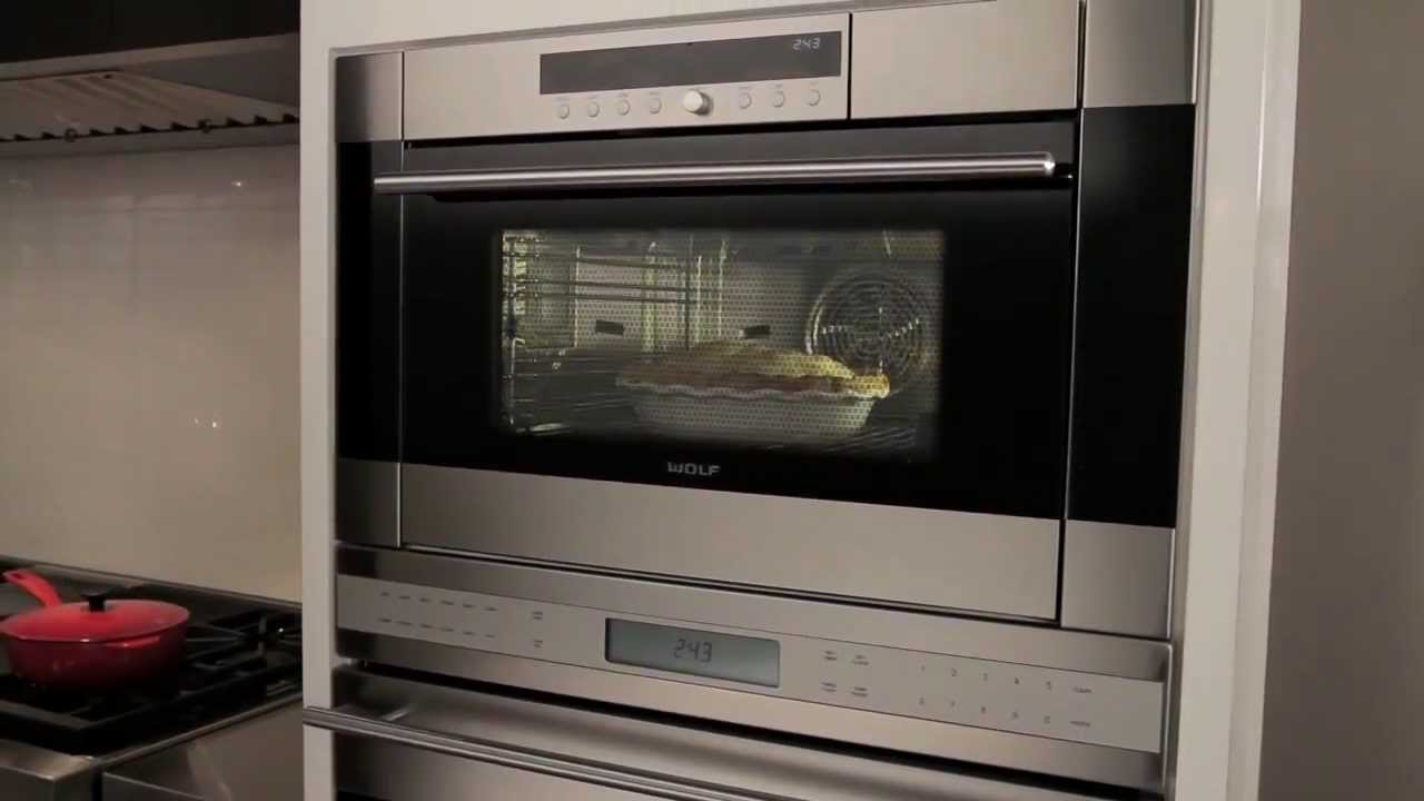 Sub Zero Appliances >> Wolf - Convection Steam Oven - YouTube