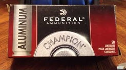Federal 45 ACP aluminum versus brass differences