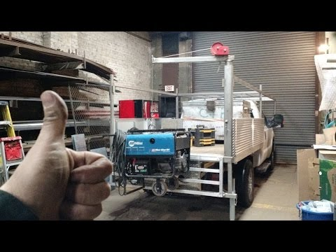 Homemade Pickup Truck Jib Crane Youtube