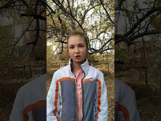 Изображение предпросмотра прочтения – АринаЛеонова читает произведение «Отговорила роща золотая» С.А.Есенина
