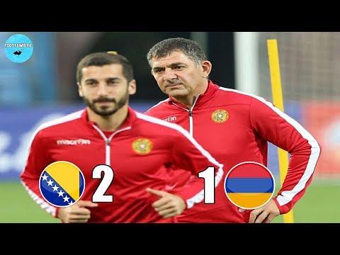 Босния и Герцеговина 2:1 Армения • Очередной ПРОВАЛ тренера • Обзор