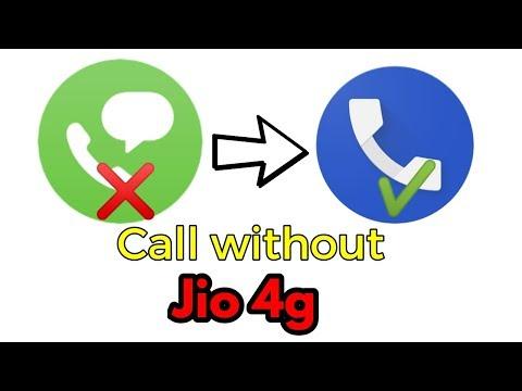  Bina jio 4g voice ke call lagae   lte converted into volte