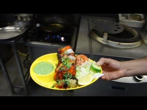 Indian Street Food: Tandoori Paneer Tikka Masala & Paneer Tikka Dry at Sangeetha Restaurant, London.