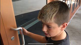 Kid Temper Tantrum Locked Out Of Movie Theater - Super Sour Ca…