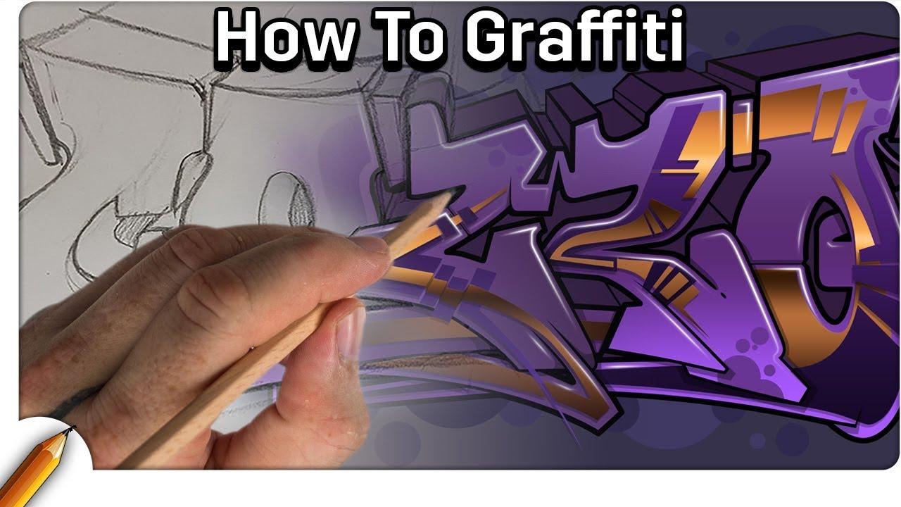 How to draw graffiti draw my name in graffiti