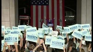 Is Elizabeth Warren really the front-runner?