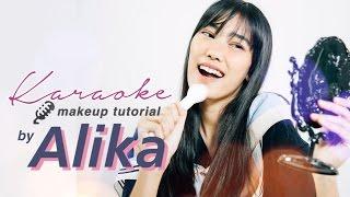 ALIKA ISLAMADINA MAKEUP SAMBIL NYANYI!!  |  Karaoke Makeup Tutorial