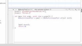 Objective C Programming Tutorial - 24 - Running the New Program