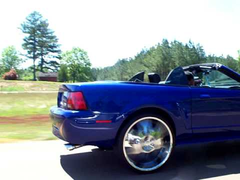 2004 Convertible Mustang On 24 S Youtube