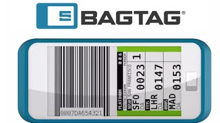 DS-TAGS E Ink BAGTAG with NXP enables Smart Luggage Tag