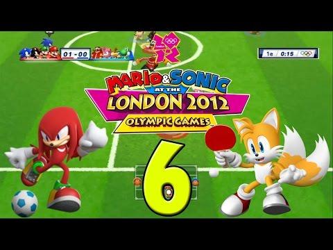 Mario & Sonic Londen 2012 (Multiplayer) DEEL 6: Tafeltennis en voetbal