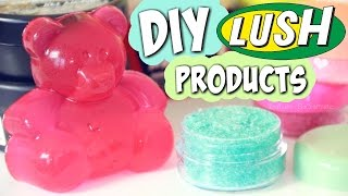 DIY LUSH Lip Scrub & Shower Jelly + HAUL - SoCraftastic