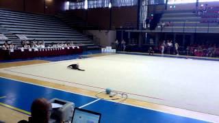 Художественная гимнастика Микаилова Камилла (2005)   LATINA FIORI  2014
