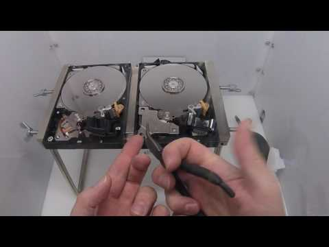 Western Digital WD30EZRX Head Swap - Affordable Clean Room Data Recovery by $300 Data Recovery