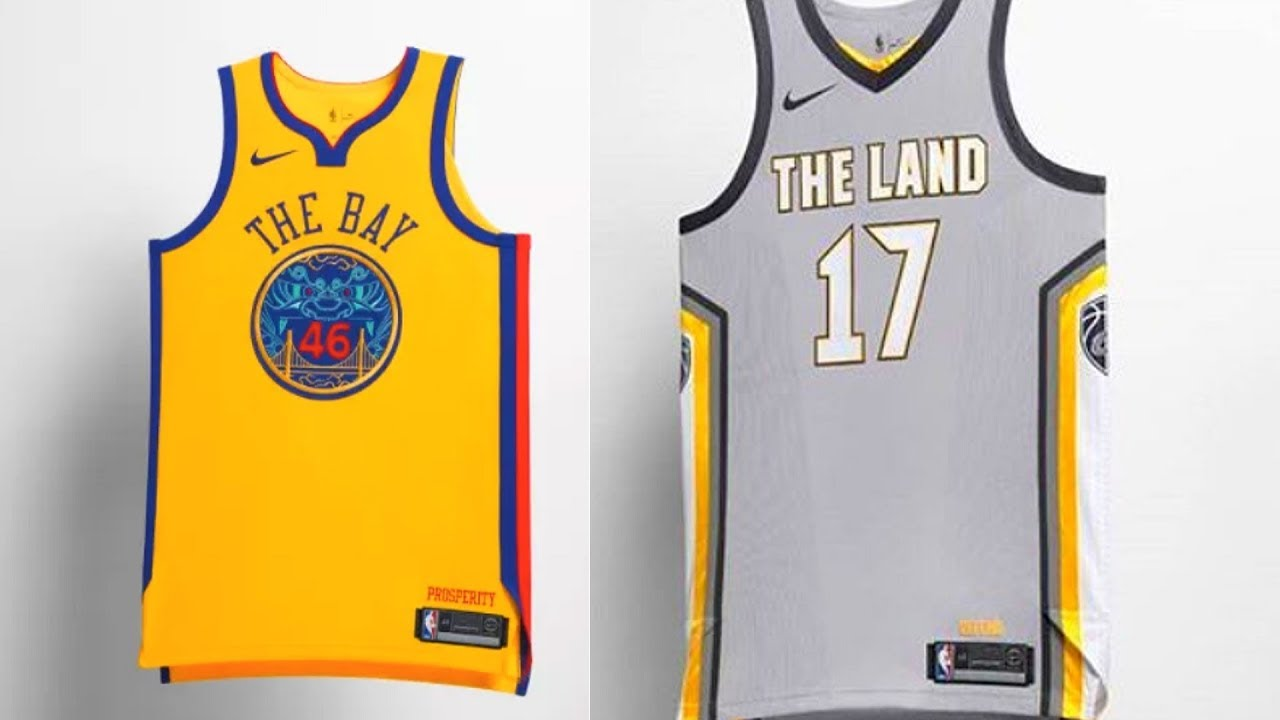 NBA New Jerseys