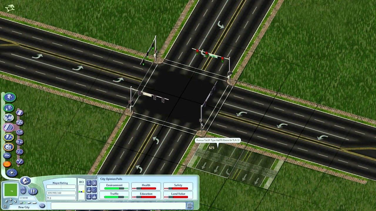 SimCity 4 TuLEP Demonstration - YouTube