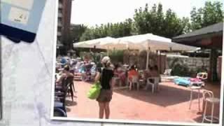 Hotel California Garden, Salou, Costa Dorada, Spain, Real Holiday Reports.wmv