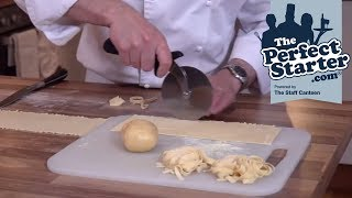 How to roll and cut basic pasta dough