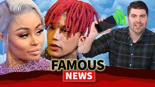 Kid Buu and Blac Chyna Hotel Break Up, iPhone FaceTime Hack | Famous News