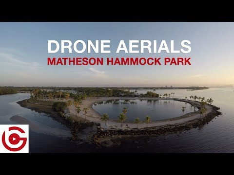 DRONE AERIALS - MATHESON HAMMOCK PARK, CORAL GABLES, FLORIDA