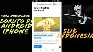 Video CARA DOWNLOAD BORUTO DI HP ANDROID IPHONE download MP3, 3GP, MP4, WEBM, AVI, FLV Oktober 2018