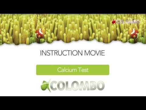 Colombo   Marine Calcium test