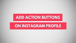 How To Add Action Buttons To Instagram Profile | Book, Buy, Sell Button on Instagram Video