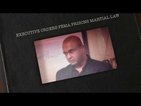 FEMA EXECUTIVE ORDER AGENDA 21 DEPOPULATION MARTIAL LAW