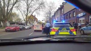 Almanyada polisler is basinda