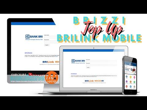 Cara Top Up BRIZZI Menggunakan BRILink Mobile