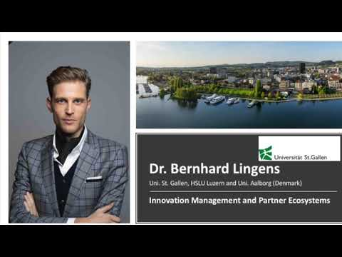 Crypto Valley Festival 2021 – Dr. Bernhard Lingens – Uni. St. Gallen Innovation management (english)