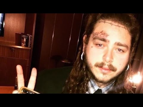 Post Malone Explains His Face Tattoo Youtube